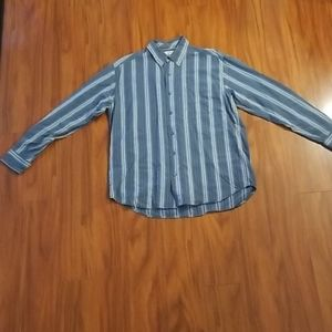 Tommy Bahama Long Sleeve Button Up Shirt w/Pocket